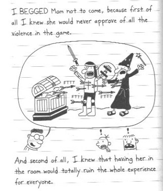 the second in the Diary of a Wimpy Kid series  entitled Rodrick Rules    Diary Of A Wimpy Kid Rodrick Rules Book Pictures